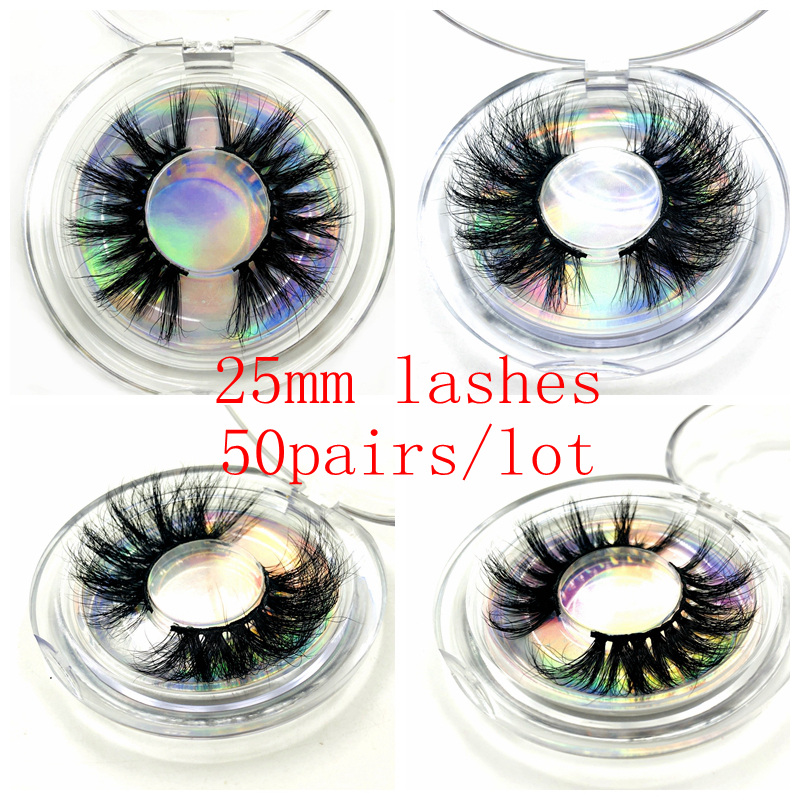 Wholesale Free DHL 50 pairs Mikiwi Eyelashes 3D Mink Lashes Handmade Dramatic Lashes cruelty free custom logo lashes