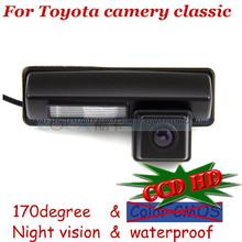 wireless wire Car Rear parking Camera for sony CCD Toyota 2007 2008 2009 2010 2011 2012 classic EU camry Harrier Ipsum Avensis(China)