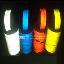 1.5CMX10M car reflective tape sticker for car body decoration Car reflective tape vinyl wrapping film with free shipping
