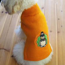 High-quality  Graceful Durable Fashion Christmas Snowman Pet Dog Puppy High Collar Warm Clothes Outwear Sweater Roupas Para Cach