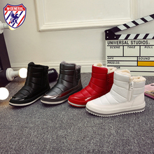 M.GENERAL Women Winter Boots Woman Snow Shoes Female Warm Comfortable Mid-calf Style Breathable Platform Shoe #MJ-0159