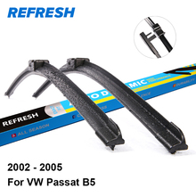 "REFRESH Wiper Blades for Volkswagen VW Passat B5 21""&21"" Fit Side Pin Arms 2002 2003 2004 2005(China)"