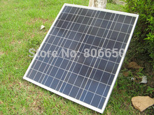 ECO-WORTHY 60W Poly Solar Panel 12V Polycrystalline Solar Panel for 12V Battery for Off Grid Solar System Solar Generators