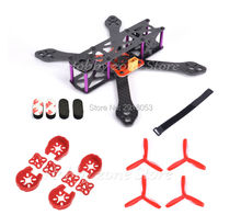 REPTILE Martian II 2 220 4mm Arm Carbon Fiber Frame Kit with PDB Motor Protector 5045 Prop For FPV Cross Racing Drone