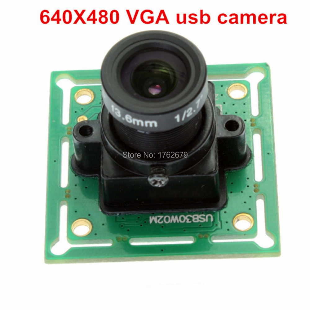 32*32mm Omnivision OV7725 CMOS VGA 640*480 mini video cctv surveillance cheap security cameras for Linux Windows<br>