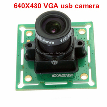 32*32mm Omnivision OV7725 CMOS VGA 640*480 mini video cctv surveillance cheap security cameras for Linux Windows(China)