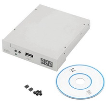 "High Quality 3.5"" 1000 USB  Floppy Disk Drive emulator Simulation 1.44MB Roland Keyboard white"