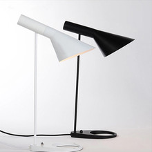 Replica AJ Table Lamp Arne Jacobsen Table Lamps For Living Room Modern Designer Louis Poulsen Desk Lamp For Bedroom,Study,Office(China)
