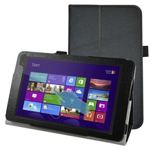 "Folio Stand New Custer PU Leather Smart  Cover Case For 8"" Dell Venue 8 Pro 3845 5830 5855 Tablet"