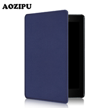 "AOZIPU Funda Case For Kobo Aura One 7.8inch eReader,Smart Wake Up PU Leather Case Protective Cover For Kobo 7.8"" Tablet eBook(China)"
