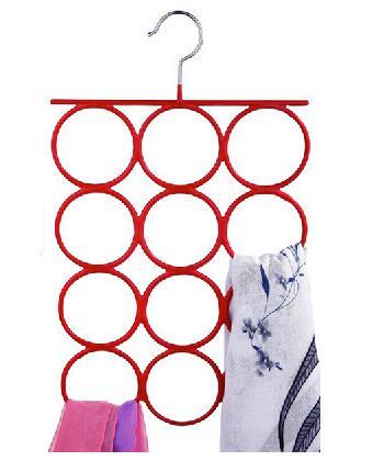 2pcs 12ring Silk scarf Storage rack  necktie  belt  pylons Leggings Pantyhose storage Coat Racks<br><br>Aliexpress