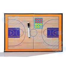 6pcs PVC Foldable Soccer basketball Coach Match Training Tactical Plate Coaching Board Kits magnetic teaching board Coach Board