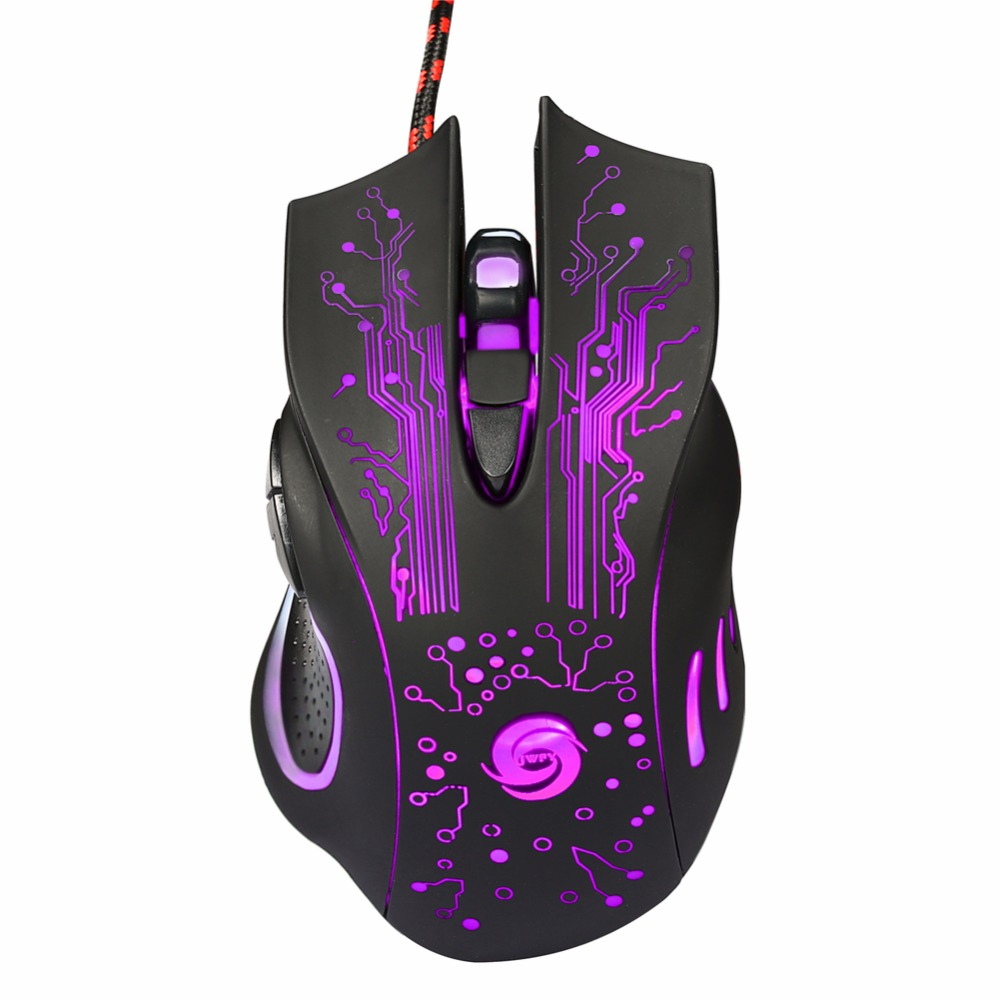 3200DPI LED Optical 6D USB Wired Gaming Mouse Game Mouse Pro Gamer Mice For PC Computer Notebook Mouse