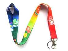 Free shipping 10pcs CAREBEARS Neck Lanyard for MP3/4 cell phone DS lite(China)