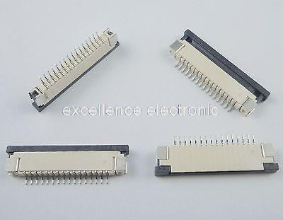 50 Pcs FPC FFC 1mm Pitch 16 Pin Drawer Type Ribbon Flat Connector Bottom Contact<br><br>Aliexpress