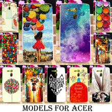 Soft TPU Painted Moblie Phone Cover Cases For Acer Liquid E700 Zest Z525 Z528 Z330 Z320 M330 Z520 Z630 z500 Z530 Covers shell