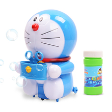 2017 Pool Summer Games Pool Toys Doraemon Soap Bubble Gun Electric Music Cartoon Shaped Pool Bubble Gun Children Toys Pool Fun