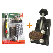 Electric Engraving Chisel for Wood Cup Jewelry Carving+Mini Walnut Vise Clamp Table Bench Vice DIY Craft Tools(China)