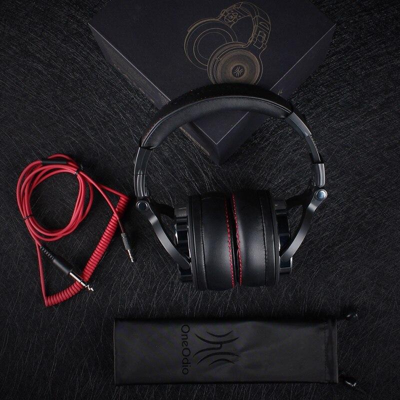 Oneodio DJ Studio Headphone For Computer Over Ear Headband Stereo Monitor DJ Headphones With Microphone Earphone For Xiaomi <br>