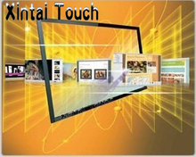 Xintai Touch Low Price 42 inch lcd infrared touch screen panel kit use for LED Touch TV and Touch Table 4 touch points(China)
