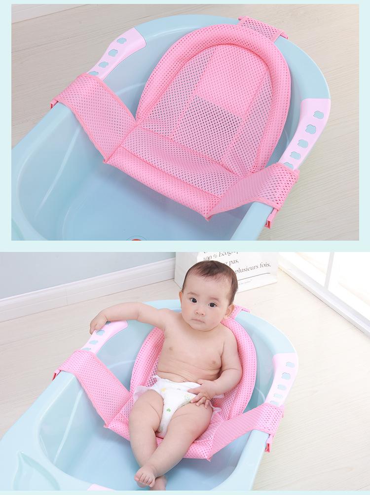 2018 Baby Bath Tub Newborn Baby Foldable Bath Tub Chair Newborn ...