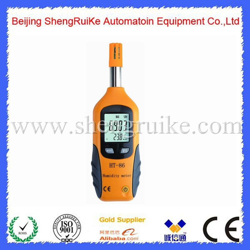 Portable LCD Digital Thermometer Hygrometer Temperature Humidity Meter Wet Bulb/Dew Point Temperature Detector diagnostic-tool <br>
