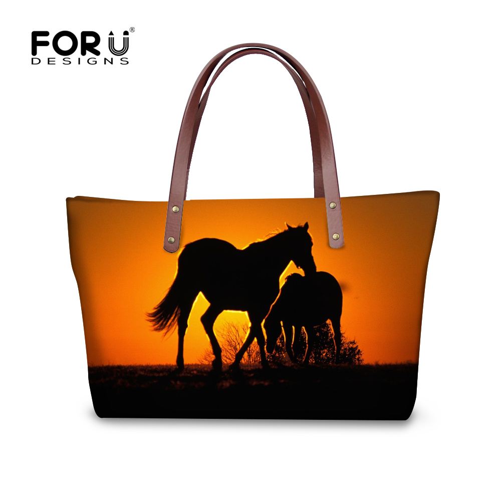 Famous Brand Women Handbags 3D Crazy Horse Shoulder Bags for Ladies Zoo Animals Tote Bags Bolsos Feminina Shopping Travel Bags<br><br>Aliexpress