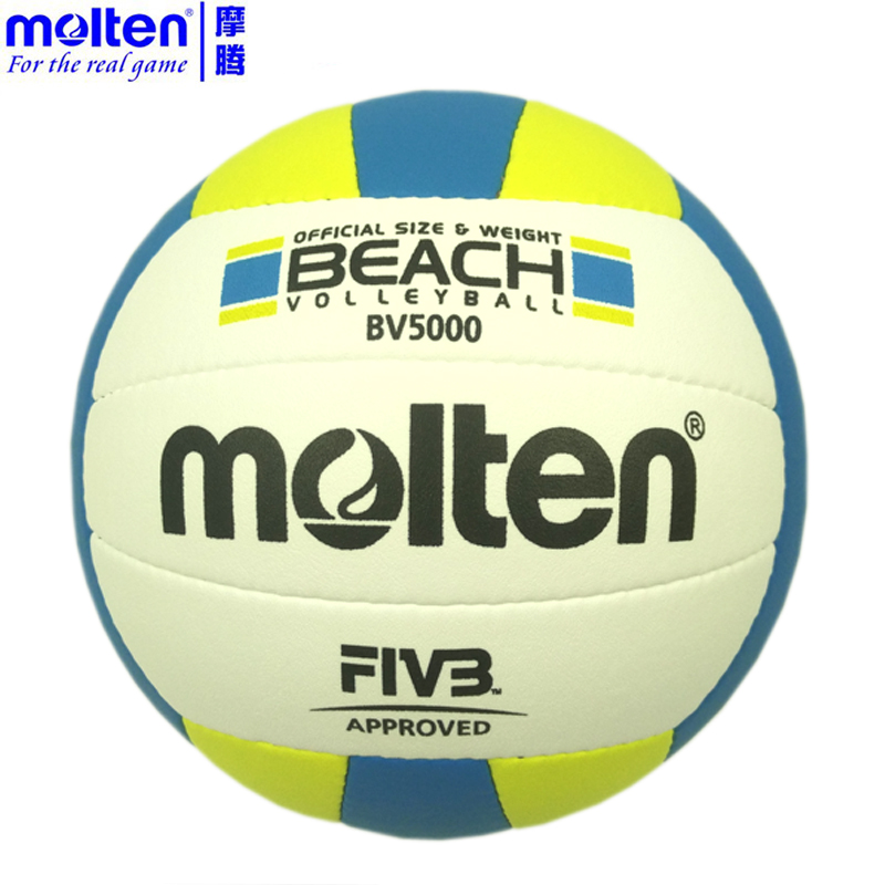 Molten PU Sand Beach Volleyball Official Size Weight 5# Ball Game Match Handballs Outdoor Indoor Compitition Training Ball(China)