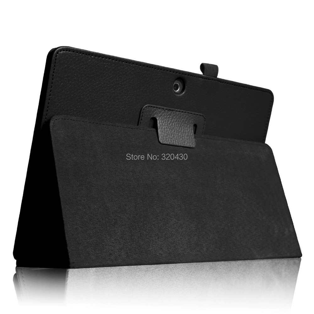 FREE Freight ME302C Folio Case for ASUS MeMO Pad FHD 10 ME302C Tablet cover case Slim  With Auto Sleep / Wake Function - Black<br><br>Aliexpress