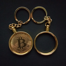 Buy Removable bitcoin virtual currency bitcoin metal keychain for $59.20 in AliExpress store