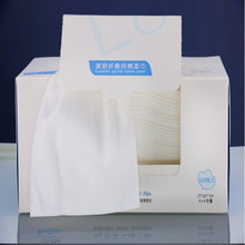 100pieces 100% cotton pulp Towel disposable cleansing wipes beauty special a Facial Tissue Makeup cotton