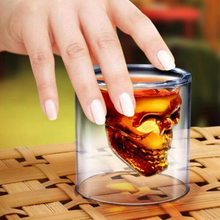 Special Transparent Crystal Skull Head Shot Glass Cup For Whiskey Wine Vodka Home Drinking Ware Man Gift Cup