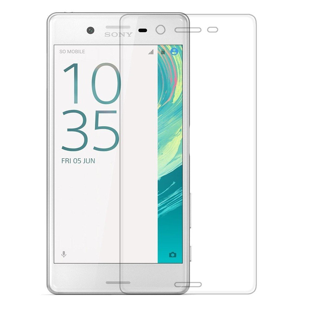 Tempered Glass Case For Sony Xperia X XA X Performance X Compact Mini XR XZ XC Screen Protector 2.5D Rounded Edge Pro 9H(China (Mainland))