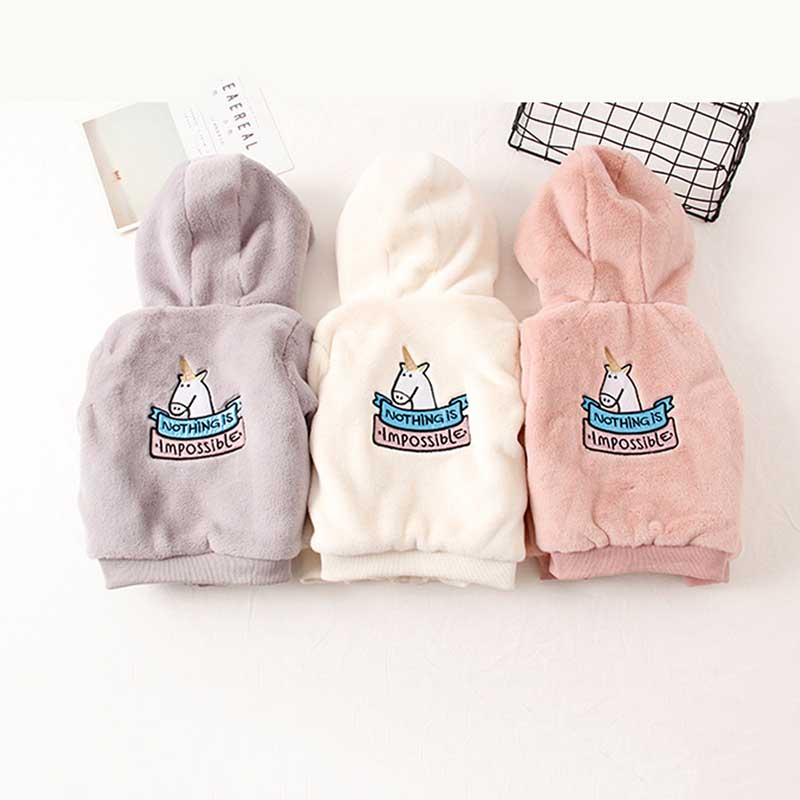 The Winter Tide Baby Pony Embroidery Imitation Mink Hair Thickening Cotton-padded Clothes Children Maomao Hooded Coat Wool <br>