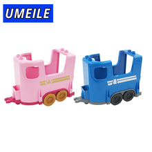 UMEILE Brand Original Classic Carriage Wagon Princess Prince Educational Kids Toys Brinquedos Block Brick Compatible with Duplo