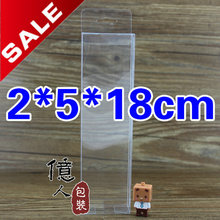 clear PVC box with hook! /display box for cosmetics, nut fruits, daily necessities etc / 2*5*18cm / Wholesale!
