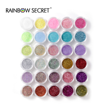 2016 hot sale30 Colors/lot Nail Glitter Powder Dust Nail Art Decoration Nail Art Metal Glitter Nail Art Tool(China)