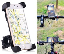 Bike Phone Holder,360 Degree Universal Motorcycle Bike Bicycle Handlebar Mount Holder For Smartphone GPS Devices(China)