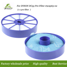 For Dyson DC33 Multi-Floor Animal Washable Pre Motor Side Filter Designed to Fit Dyson DC33 Vacuum Cleaners Premium Quality