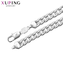 11.11 Deals Xuping Fashion Necklace Environmental Copper for Women Thanksgiving Jewelry Christmas Gift S71,4-43673(China)