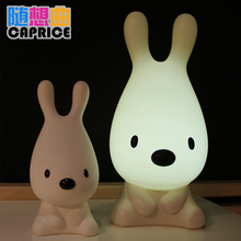 Soft light LED energy-saving lamp, Capriccio touch dogs Nightlight three dimming lights will be obedient