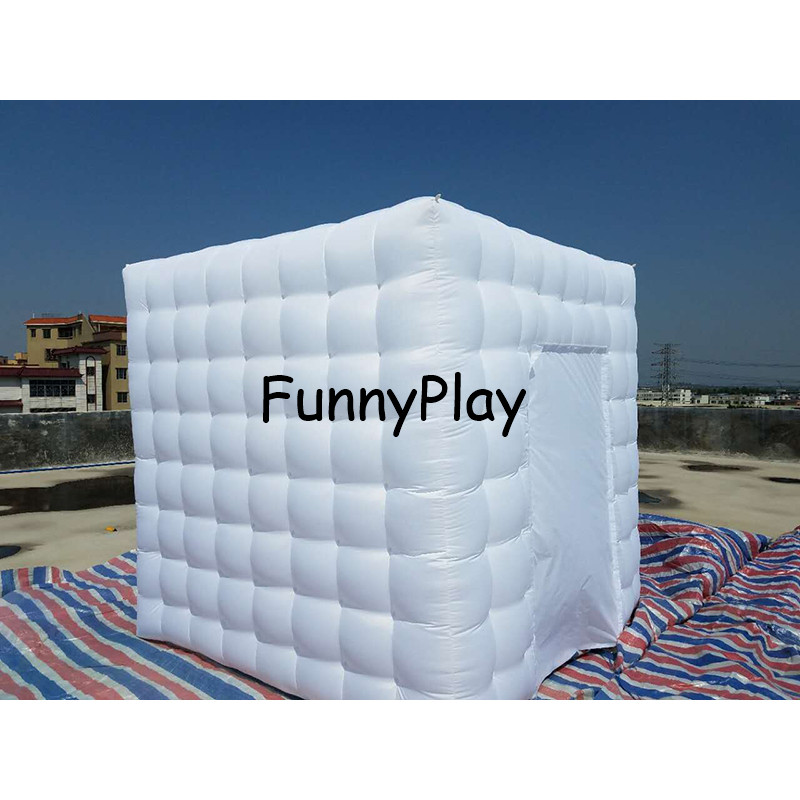 Inflatable photo booth tent