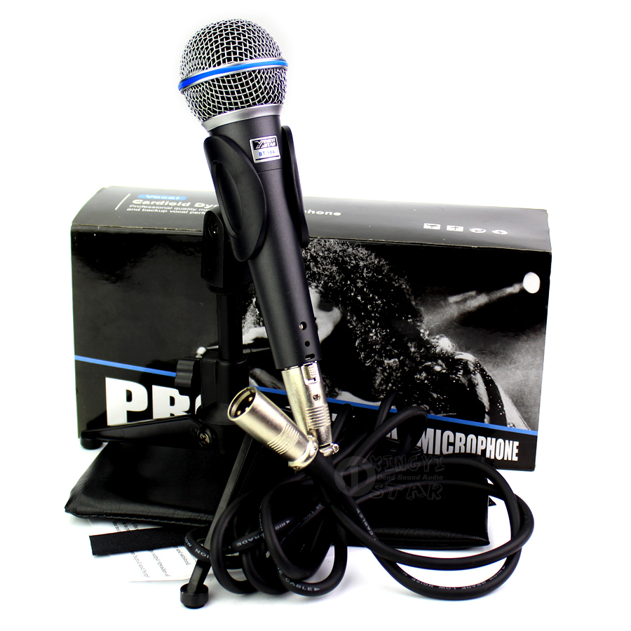 Professional Wired Handheld Mic 10