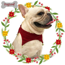 Pet Dog Cat Scarf Christmas Bell Scarf Dog Collar Jingling Bell Christmas Pet Scarf Dog Accessories Pet Bow Tie(China)