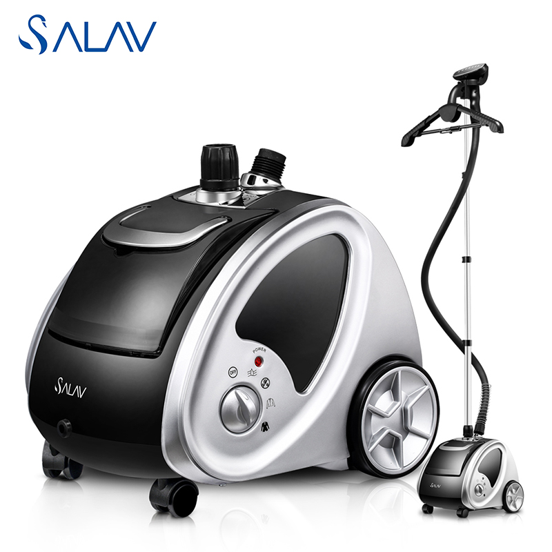 SALAV 1500W 1.8L Vertical Clothes Steamer Stainless Steel Nozzle 4 Power Settings 9 Accessories GS29-UK<br><br>Aliexpress