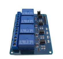 4 Channel Relay module.Relay expansion board 5V. With opto isolation support AVR / 51 / PIC microcontroller. DC 5V 1pcs