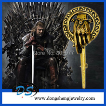 "HBO ""GAME OF THRONES"" Hand of the King Pin BRAND NEW Metal Classic Anti Copper Bronze Brooch Pin for Man Faashion Jewelry"