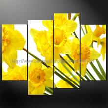 Daffodils Flowers Cascade Modern Many Sizes Free Postage Oil Painting Contemporary Abstract Art Wall Art Graduation Souve