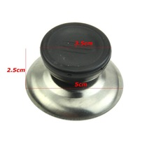 2 Size Replacement Cooker Pot Cap Kettle Lid Button Plastic Handle Knob Grip