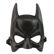 1Pc Halloween Batman Mask Adult Black Masquerade Party Carnival Dressing Upper Half Face Mask For Man Woman Cool Costume Kit